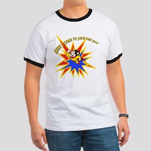 Mighty Mouse Save the Day Ringer T