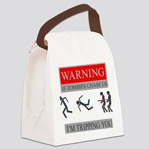 Zombies 01 Canvas Lunch Bag