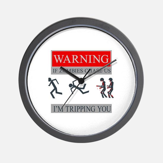 Zombies 01.png Wall Clock