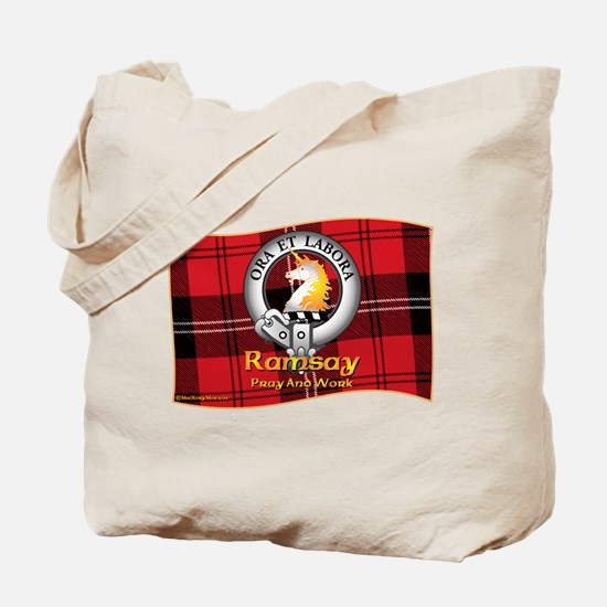 Ramsay Clan Tote Bag