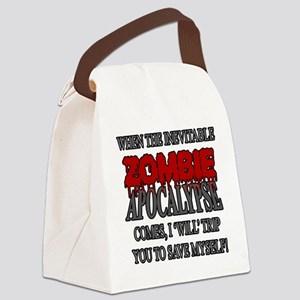 I Will Trip You Canvas Lunch Bag