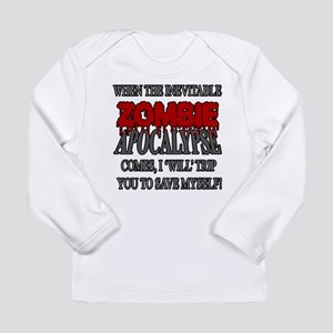 I Will Trip You Long Sleeve T-Shirt