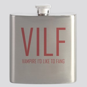 Vampire Id Like to Fang Flask