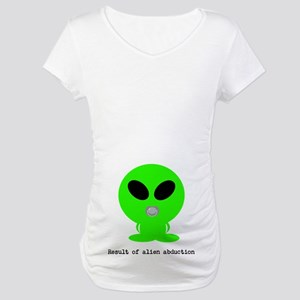 Alien baby Maternity T-Shirt