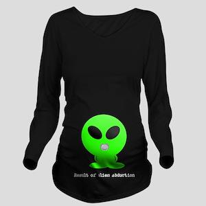 Alien baby Long Sleeve Maternity T-Shirt