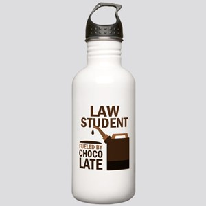 Law Student Chocolate Stainless Water Bottle 1.0L