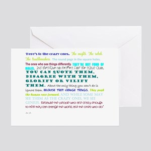 people who change things Greeting Card