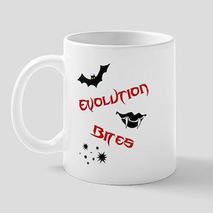 Evolution Bites Mugs