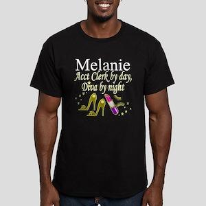 ACCOUNTING CLERK Men's Fitted T-Shirt (dark)