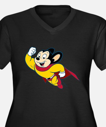Mighty Mouse Plus Size T-Shirt