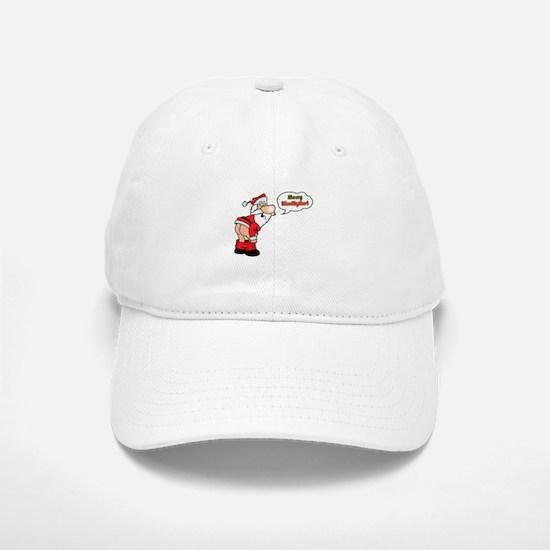 Merry KissMyAss Baseball Baseball Cap