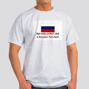 Russian Twins(Perfect) Ash Grey T-Shirt