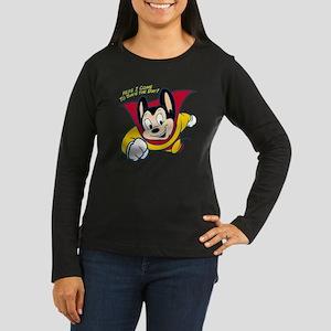 Officially licens Women's Long Sleeve Dark T-Shirt