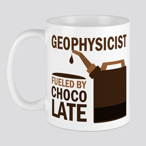 Geophysicist Fueled By Chocolate Mug