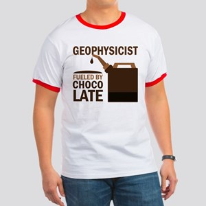 Geophysicist Fueled By Chocolate Ringer T