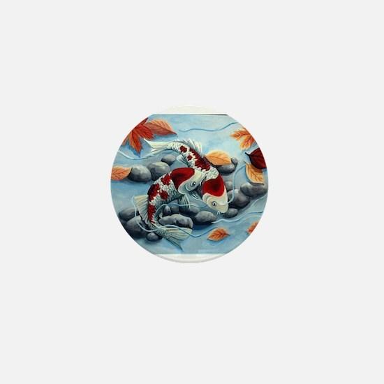 koi fish Mini Button