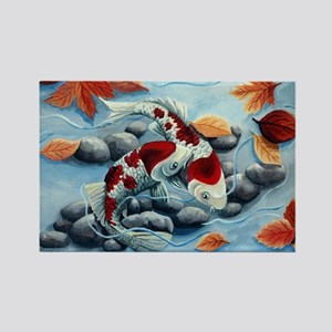 koi fish Magnets