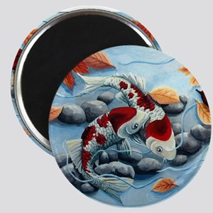 koi fish Magnets