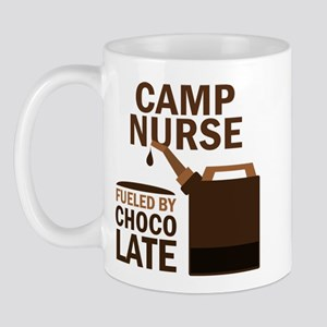 Camp Nurse Chocolate Mug