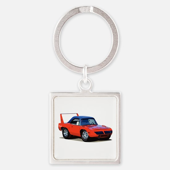 BabyAmericanMuscleCar_SuperBD_red Keychains