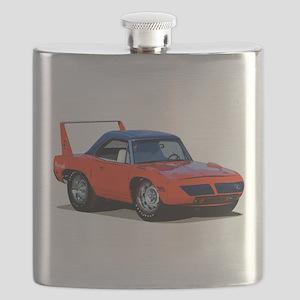 BabyAmericanMuscleCar_SuperBD_red Flask