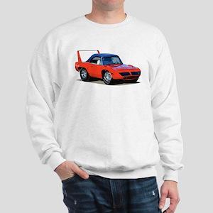 BabyAmericanMuscleCar_SuperBD_red Sweatshirt