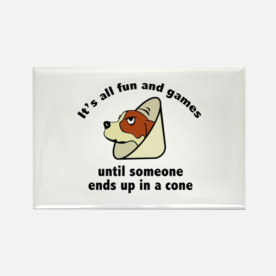 It's All Fun And Games Rectangle Magnet (100 pack)