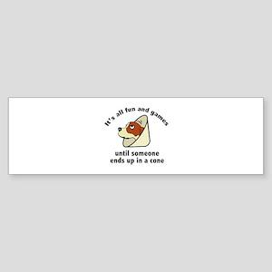 It's All Fun And Games Sticker (Bumper)