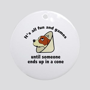 It's All Fun And Games Ornament (Round)