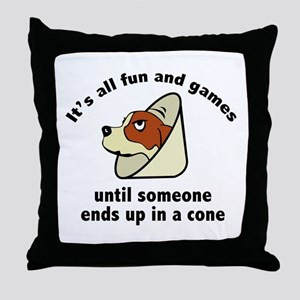 It's All Fun And Games Throw Pillow