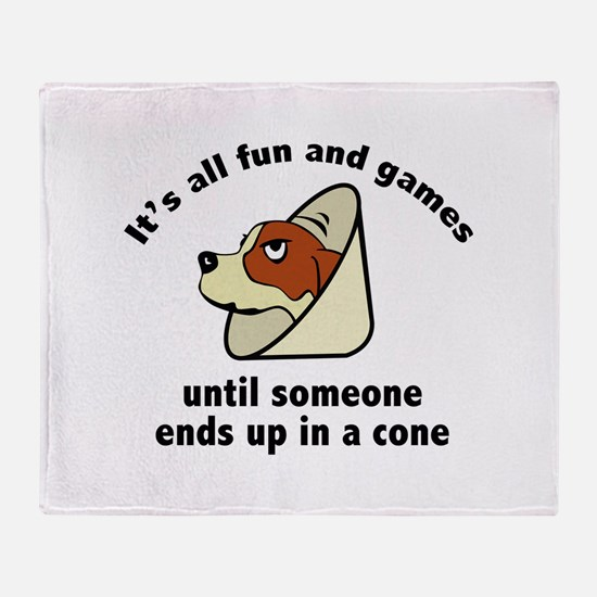It's All Fun And Games Stadium Blanket
