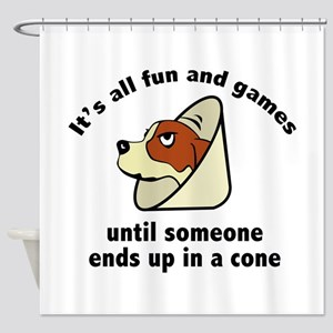 It's All Fun And Games Shower Curtain
