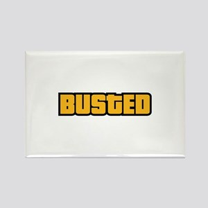 BUSTED Rectangle Magnet