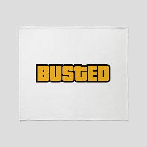 BUSTED Stadium Blanket
