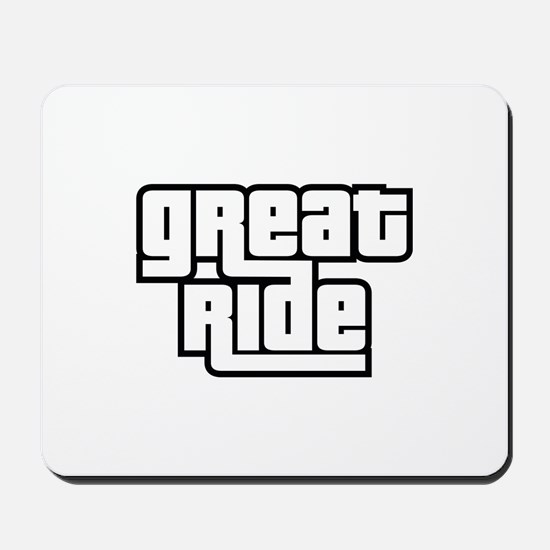 Great Ride Mousepad