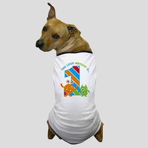 Little Monster 1st Birthday Dog T-Shirt