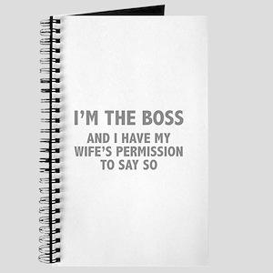 I'm The Boss Journal