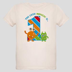 Little Monster 1st Birthday T Shirt