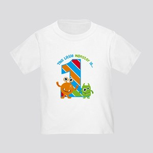 Little Monster 1st Birthday T-Shirt
