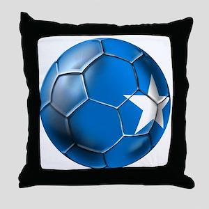 Somalia Football Throw Pillow