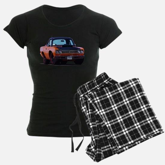 BabyAmericanMuscleCar_69_RoadR_Orange Pajamas