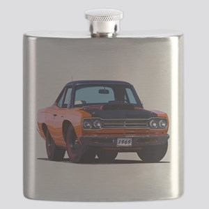BabyAmericanMuscleCar_69_RoadR_Orange Flask