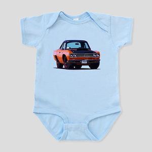 BabyAmericanMuscleCar_69_RoadR_Orange Body Suit