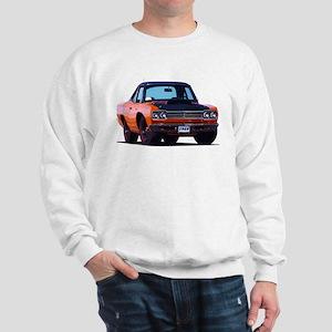 BabyAmericanMuscleCar_69_RoadR_Orange Sweatshirt