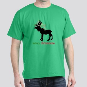 Merry Chrismoose Dark T-Shirt