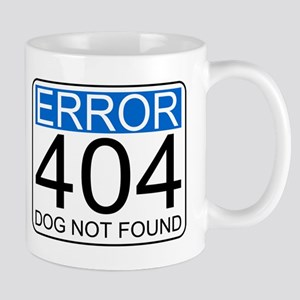 Error 404 - Dog Not Found Mug