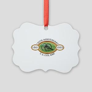 150th Anniversary - U.S. Civil War Ornament