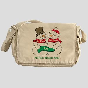 Personalize It Christmas Messenger Bag