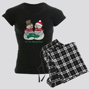 Personalize It Christmas Pajamas