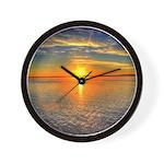 Beautiful Sunset Scenic View Photography Wall Cloc